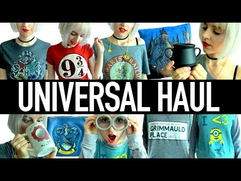 HARRY POTTER HAUL | Universal Studios + Wizarding World of Harry Potter 2017