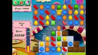 Candy Crush Saga: Level 89 (No Boosters 3★) iPad