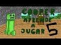 COOPER ¡ APRENDE A JUGAR AL MINECRAFT CON ARMAS ! ep 5