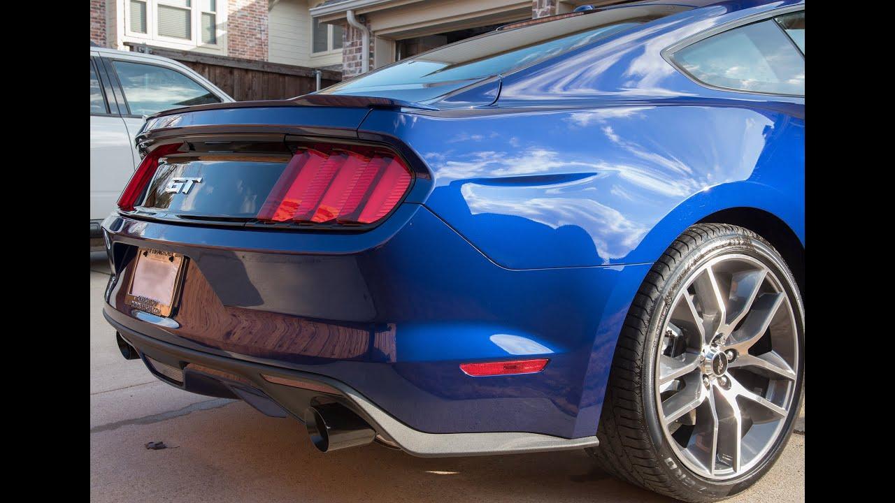 Mustang Gt Cat Back Exhaust