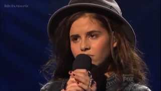 The X Factor USA 2012 - Top 8 Live - Carly Rose Sonenclar