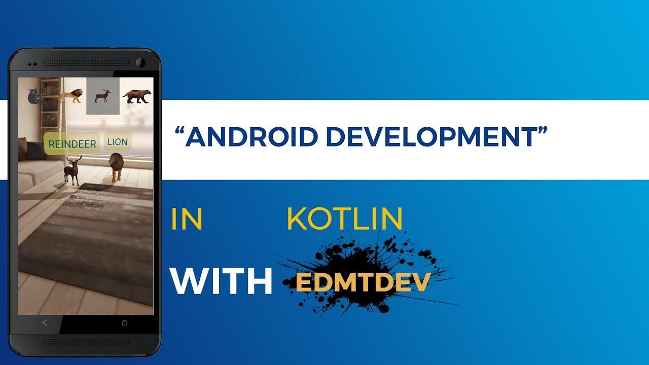 Kotlin Android Tutorial – Google AR Core Sceneform | Tech