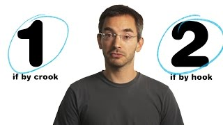 "Myq Kaplan: ""By Hook or by Crook"""