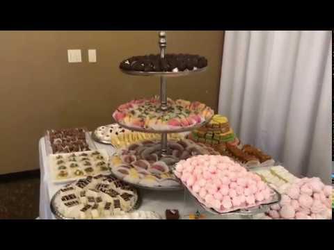 Свадебный фуршет(фрукты, сладости, декорация)