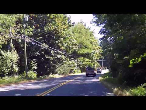 Driving from Ladysmith to Chemainus BC Canada - Small Towns Vancouver Island