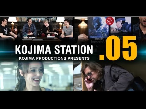 KOJIMA STATION KojiSta  Episode 05 : THE LIVING ROOM with Robin Atkin Downes etc....