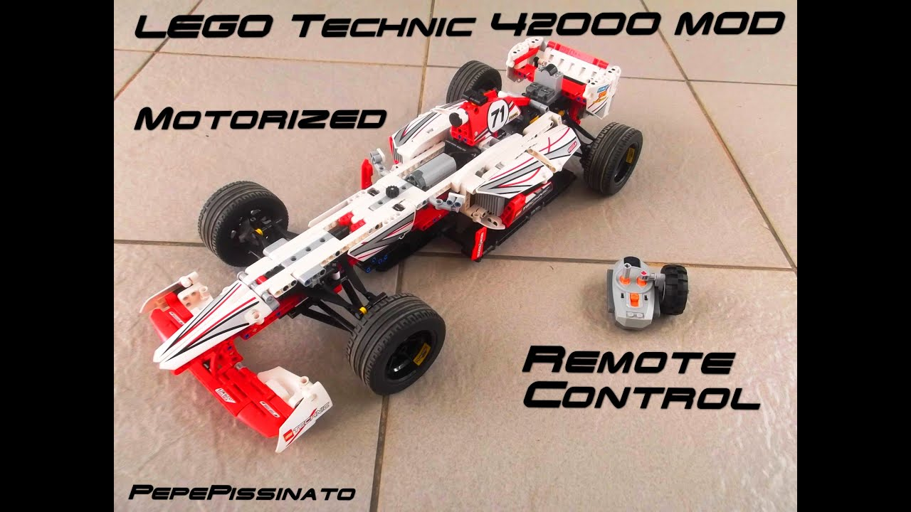 lego technic grand prix racer 42000 mod rc hd youtube. Black Bedroom Furniture Sets. Home Design Ideas