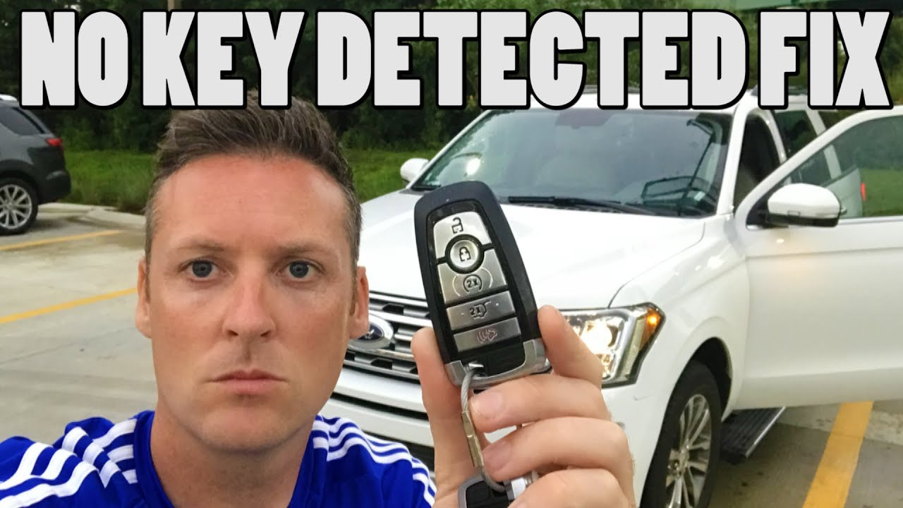 Ford Keyless No Key Detected How To Start Car Expedition Explorer