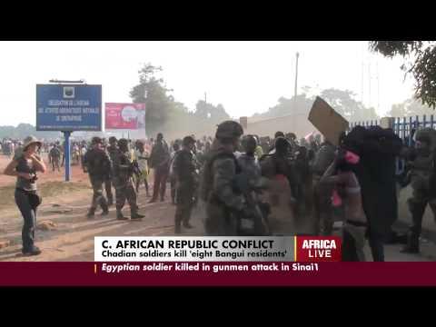 Chadian Troops Kill at least 8 Civilians in Bangui