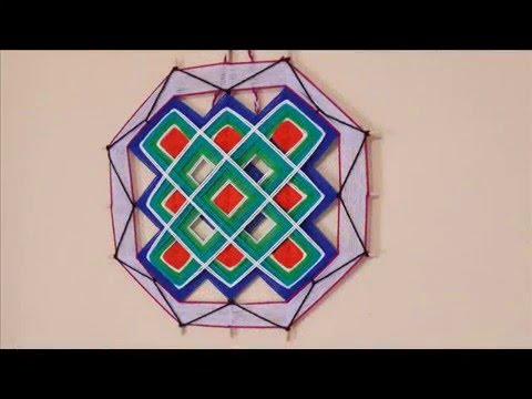 Mandala Cuadrados - YouTube