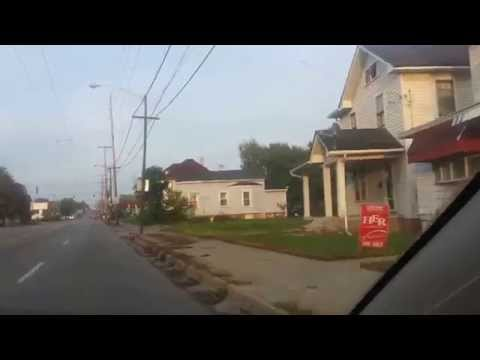 A quick drive West Third Street in Dayton, Ohio