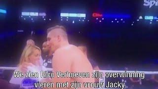 Chantal Janzen aangezien voor vrouw kickbokser
