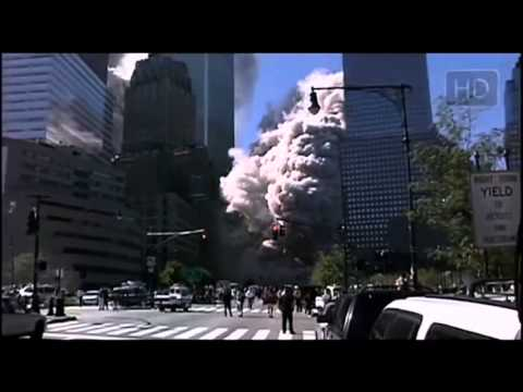 9-11 attack on twin towers with music from James honor