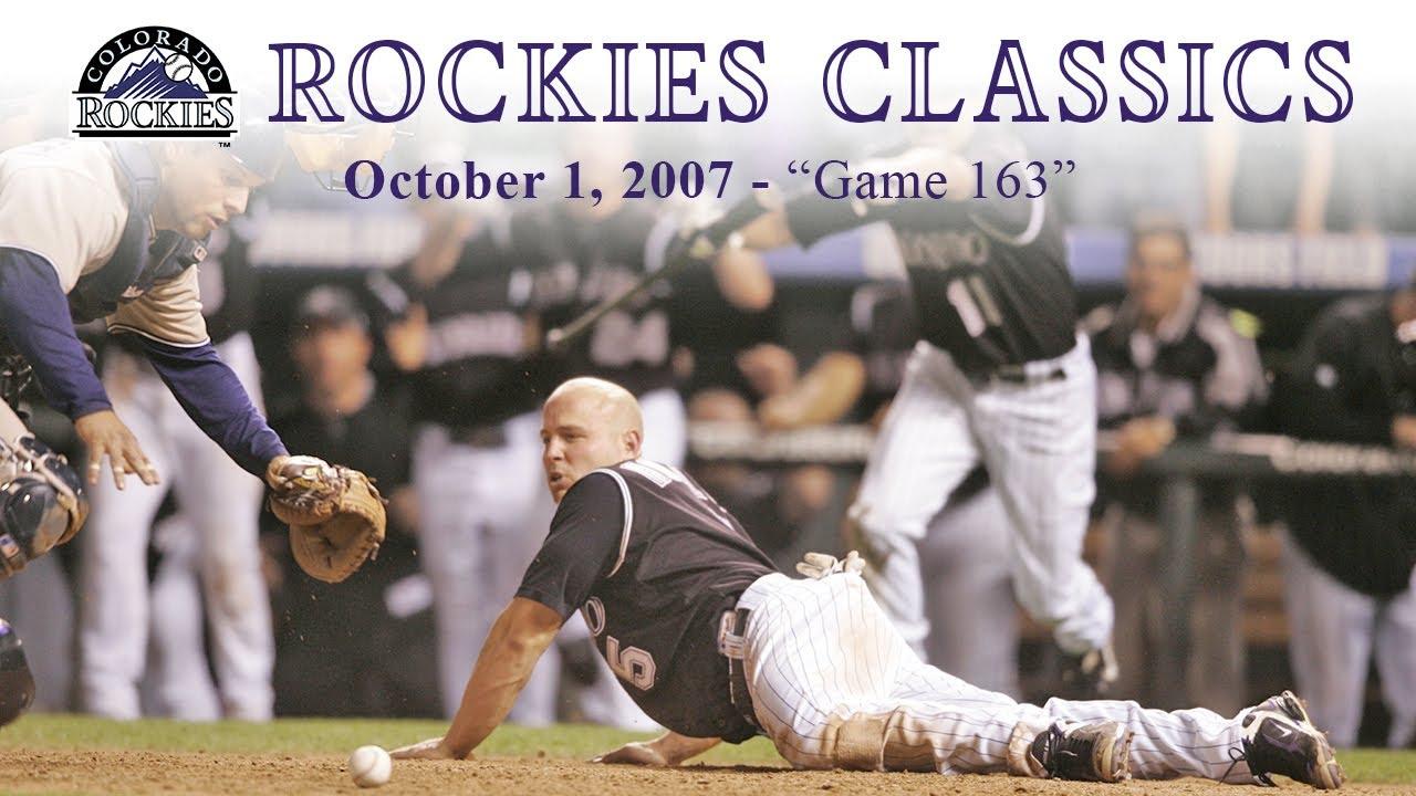 Rockies Classics - Game 163 (October 1, 2007)