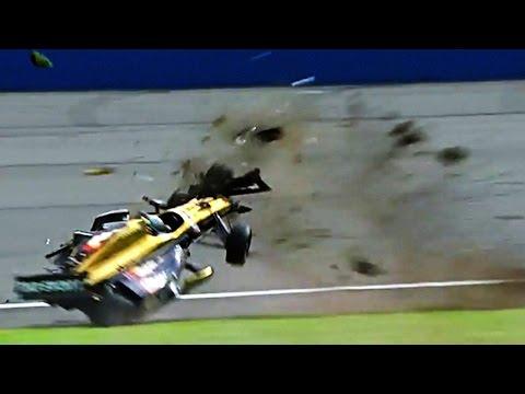 Ryan Briscoe & Ryan Hunter Reay Big Crash