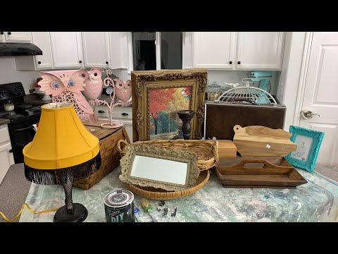 🔴 Thrift Store Home Decor Finds