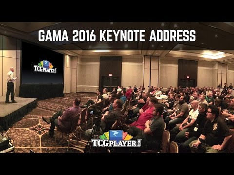 TCGplayer.com Seller Keynote - GAMA 2016