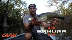 SAKURA CAJUN Spinnerbait Explications Techniques par Jean Christophe DAVID
