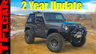 Come Ride With Me! What's It Like To Live With a Lifted Jeep Wrangler