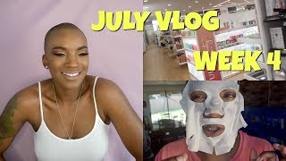 JULY VLOG | WEEK 4 | BEAUTY BY KANDI