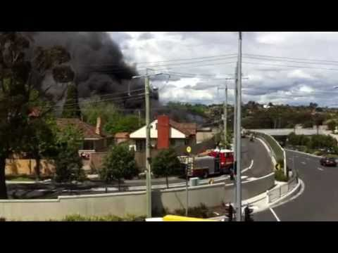Business on fire at Chadstone / Malvern East on Melbourne Cup Day