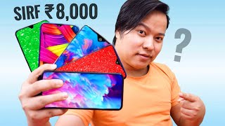 Top 5 Smartphones Under ₹8000 with Pros & Cons 😉😉 Zabardast