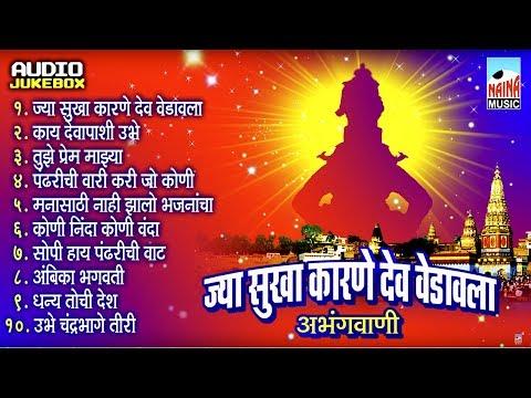 अभंगवाणी I ज्या सुखा कारणे I Jya Sukha Karane I Audio Jukebox