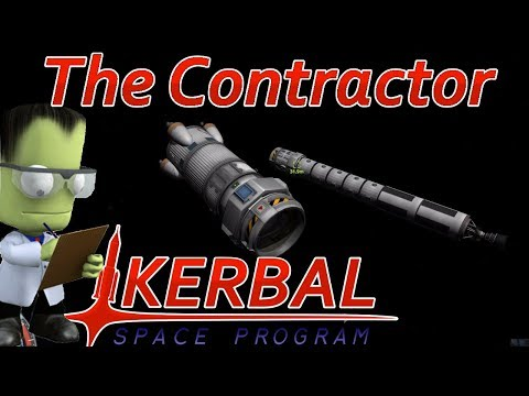 [16] Returning 22 Kerbals From The Mun | The Contractor - Kerbal Space Program