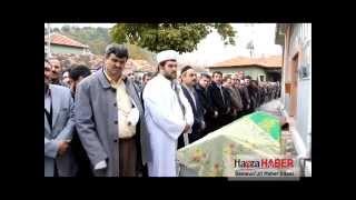 Havza'lı İmam kaza'da ölen annesinin cenaze namazını kıldırdı
