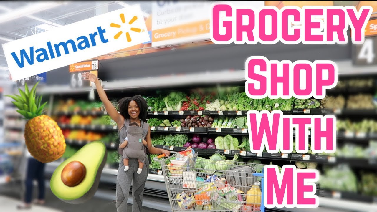 e3fb684348f GROCERY SHOP WITH ME & A NEWBORN! | VLOG – Shopping time