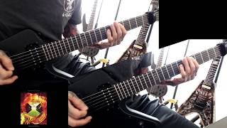 "I covered ""bel air"" by MALICE MIZER. I did reamping after recording..."