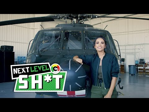 Next Level Shit: Up Close and Personal with a Black Hawk Helicopter