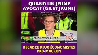 François Boulo recadre deux économiste pro-macron