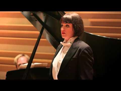 """""""George,"""" William Bolcom: Arelle Oberlander, Soprano and Edward Bak, Piano"""