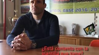 Mateo hace balance de la primera vuelta de Osasuna Promesas.