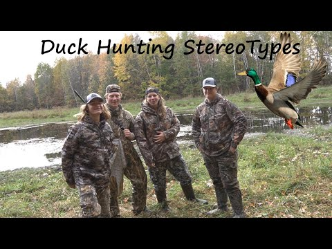 Duck Hunting Stereotypes