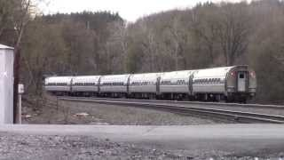 The NS Pittsburgh Line - Finally, the Amtrak Dash 8