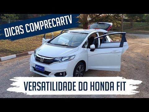 Versatilidade do Honda Fit