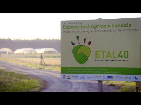 Tester son projet agricole, c'est possible avec ETAL40