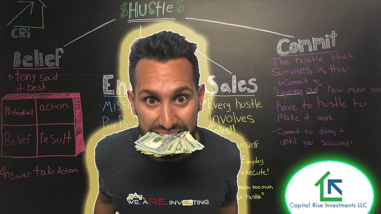 "How We Break Down ""HUSTLE"" to make  $7$ FIGURES"