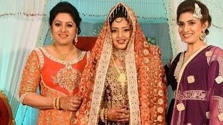 Download Video Celebrities Attend  - Actress Sana's Daughter Wedding Photos  Slide Show MP3 3GP MP4