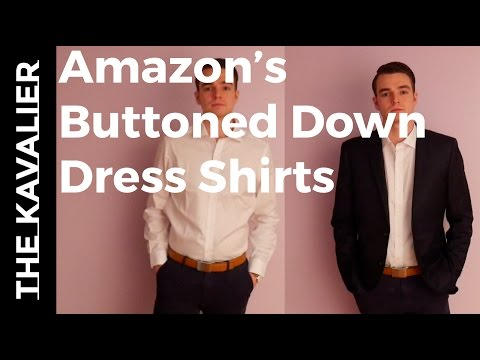 Buttoned Down Dress Shirts - Amazon's Private Brand Unboxing and Review