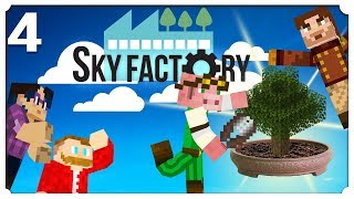 Bonsai Pots Minecraft Sky Factory 4 Sky Factory 4 Modpack Youtube
