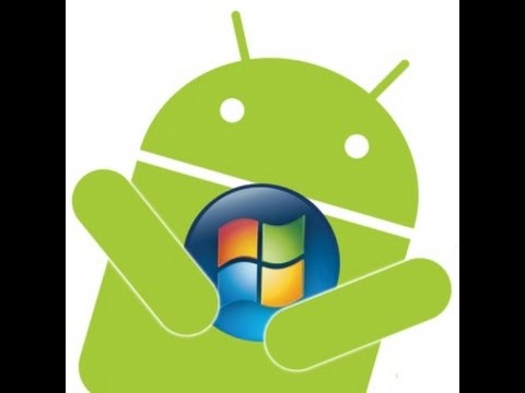 how to run anroid application on windows