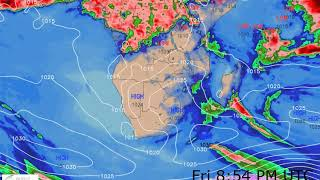 Southern Africa Weather Forecast HD: 24 Sep 2019 [Updated at 0000 hours UTC]
