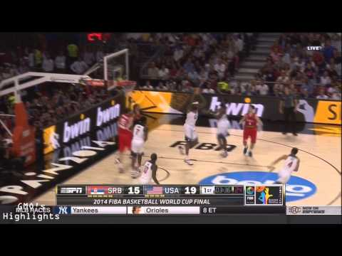 4a7544b13cdb Kyrie Irving and James Harden Full Game Highlights  USA Fiba 2014 Gold  Medal Game