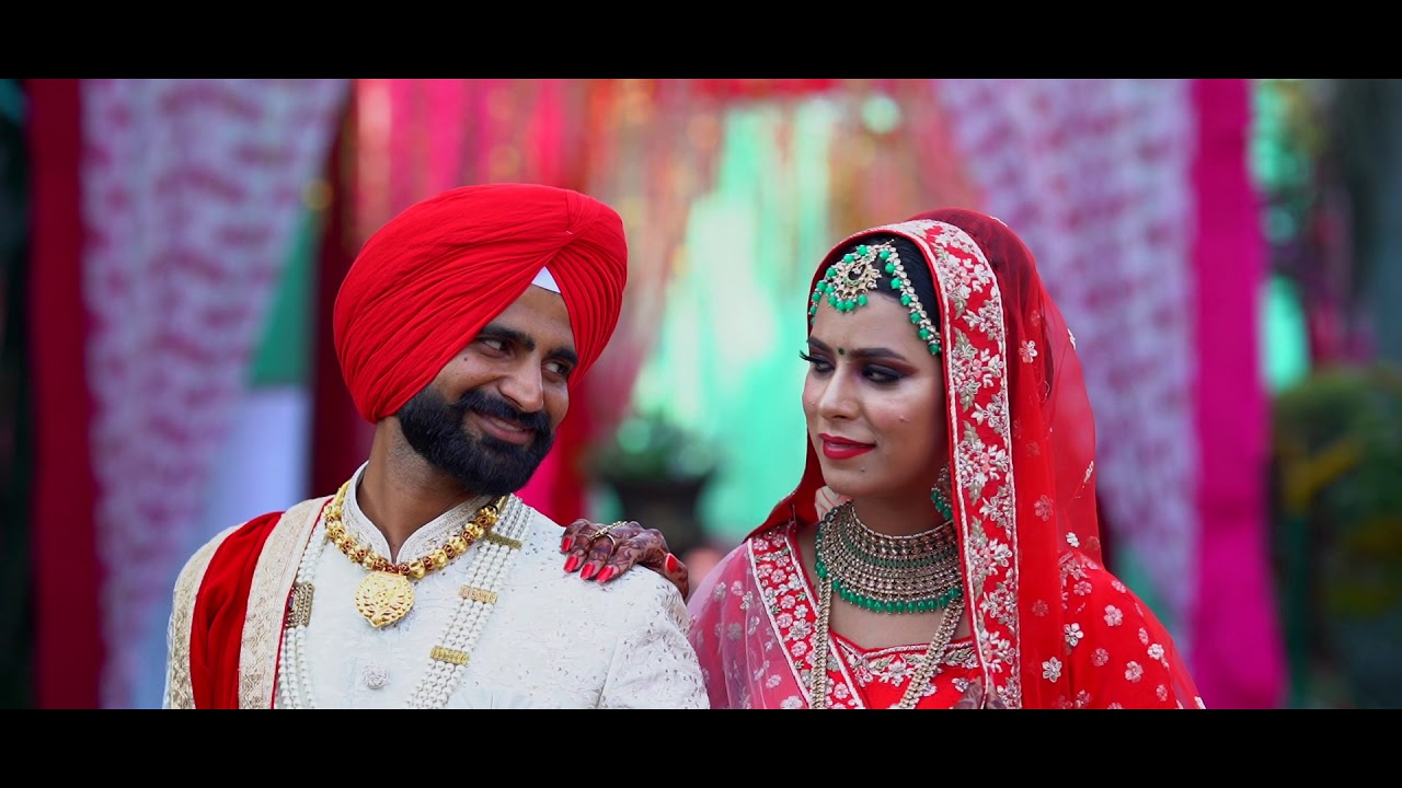 New Punjabi Wedding Highlight Best Couple Youtube