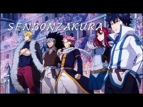Fairy Tail [AMV]- Senbonzakura (Wagakki-Band Ver.)