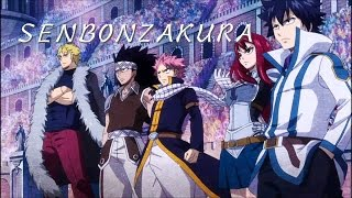 Fairy Tail AMV Senbonzakura Wagakki Band Ver