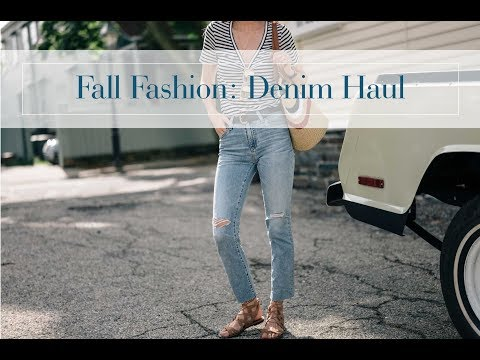 Fall Denim Try-On Haul Paige, AG, Citizens of Humanity, AYR and more